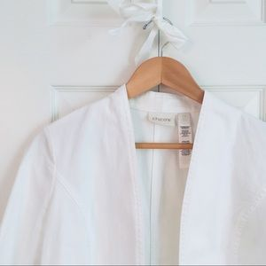 White Jean 2-in-1 Jacket from Chico's